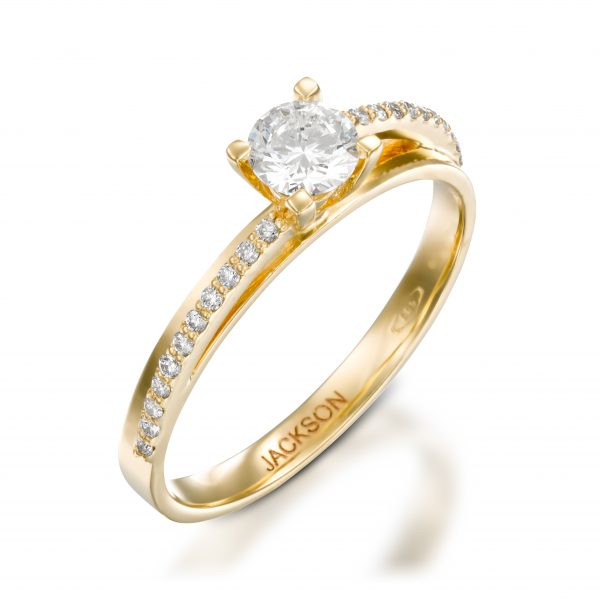 מבריק טבעות אירוסין - ג'קסון תכשיטים יצרן התכשיטים מספר 1 בארץ TQ-72