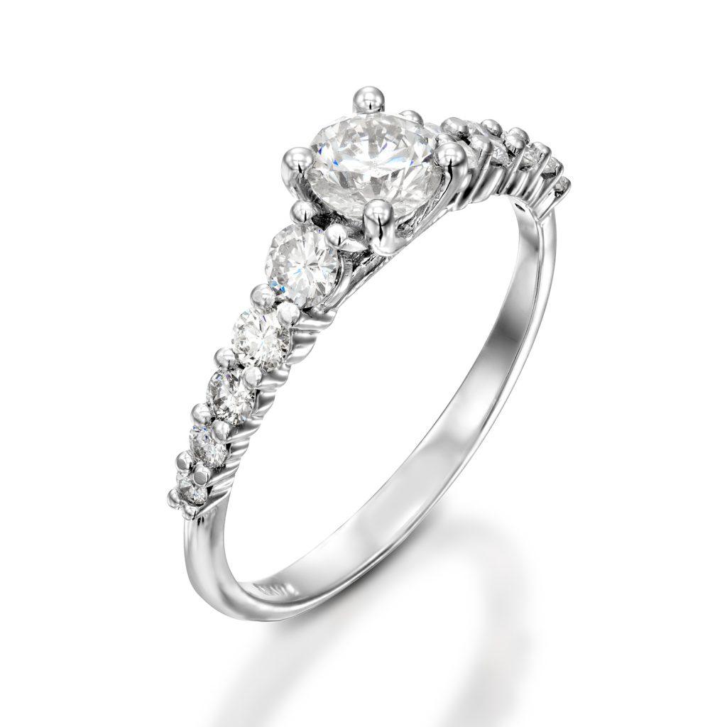 טבעת אירוסין - ELIZABETH
