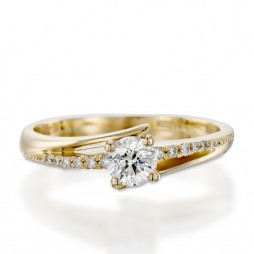 טבעת אירוסין - JANET