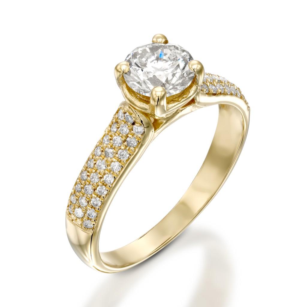 טבעת אירוסין - JANICE