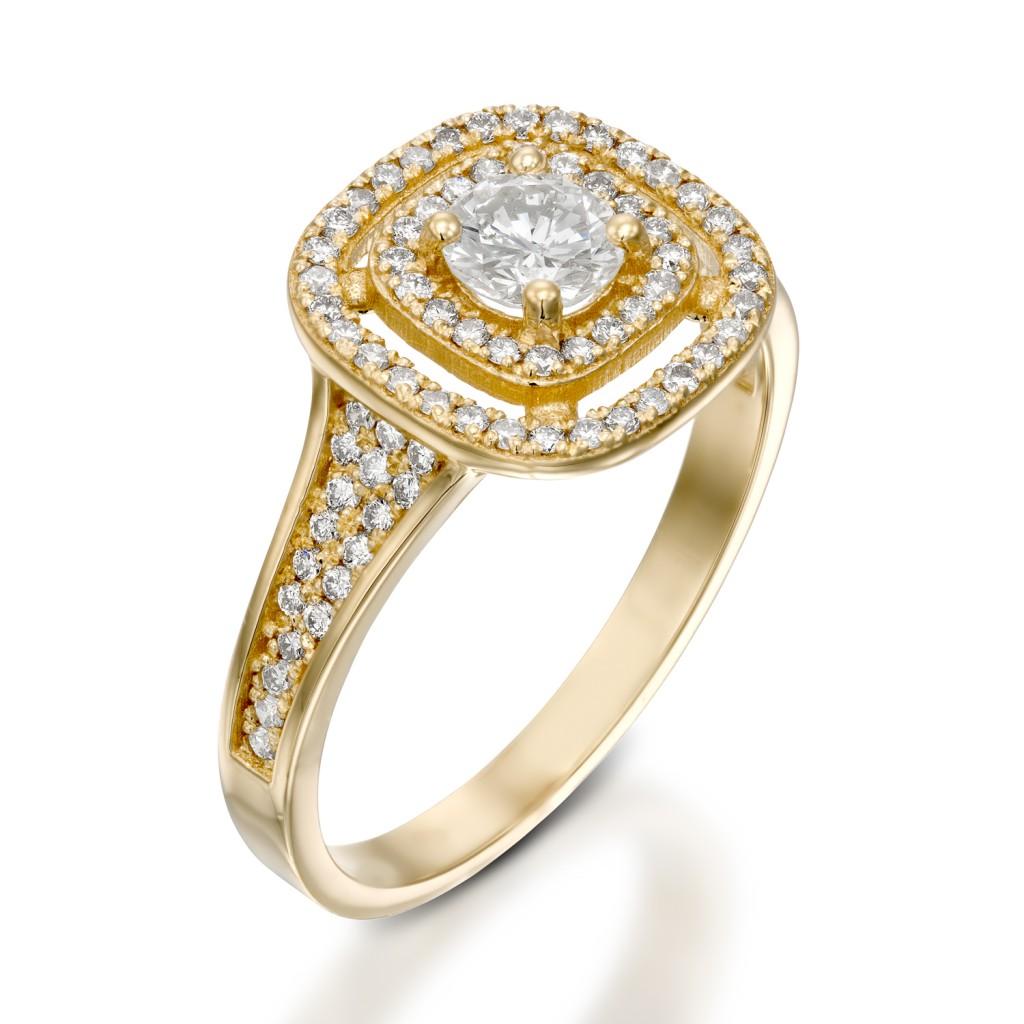 טבעת אירוסין - SANDRA
