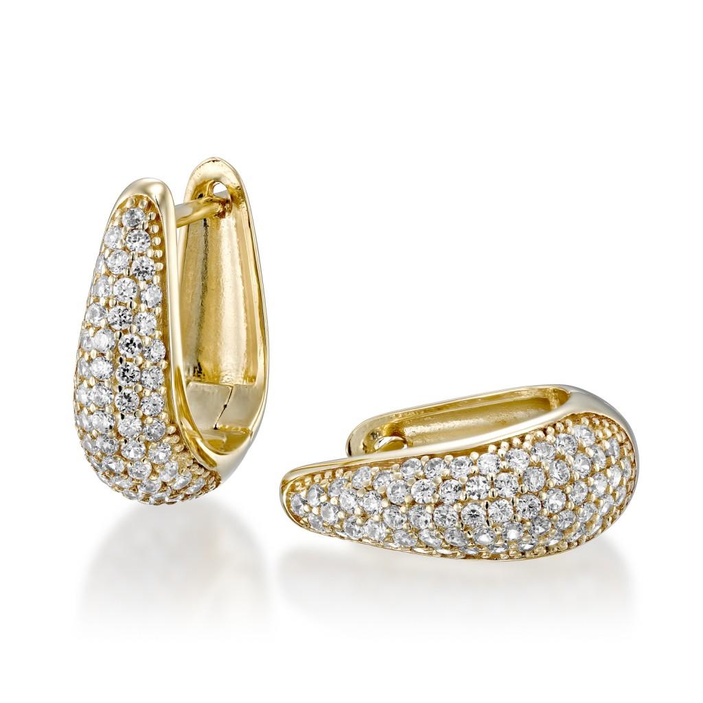 עגילי יהלום LILIAN
