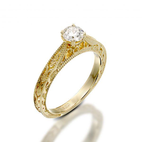 מגניב ביותר טבעות אירוסין - ג'קסון תכשיטים יצרן התכשיטים מספר 1 בארץ DK-32