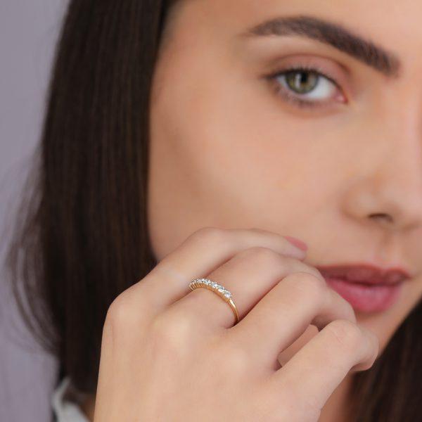 טבעת יהלומים - ליאור