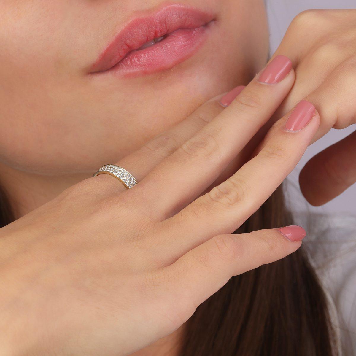 טבעת יהלומים - עדן