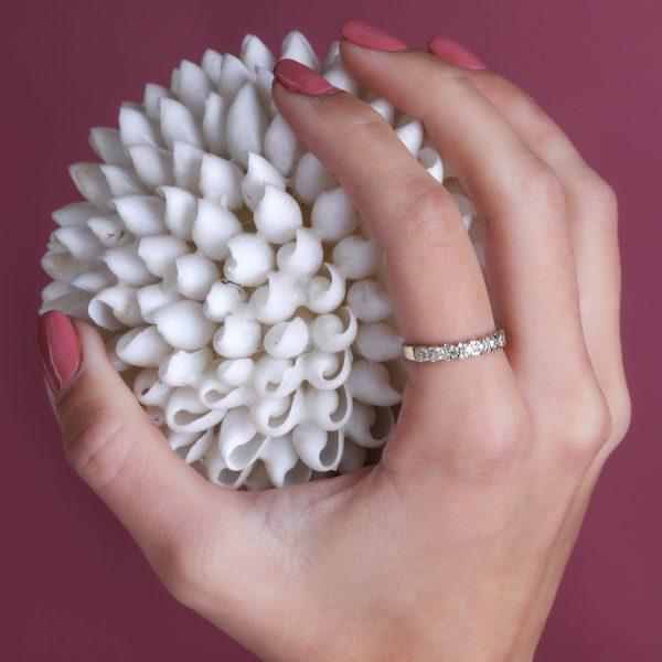 טבעת יהלומים - בלה
