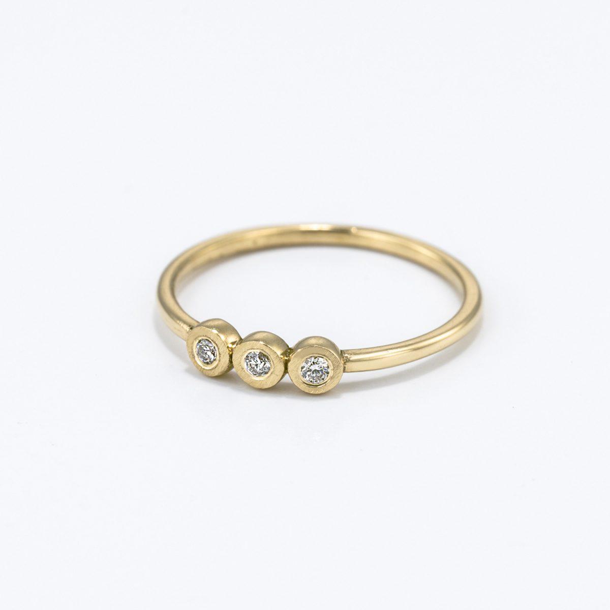 טבעת יהלומים - מיקה