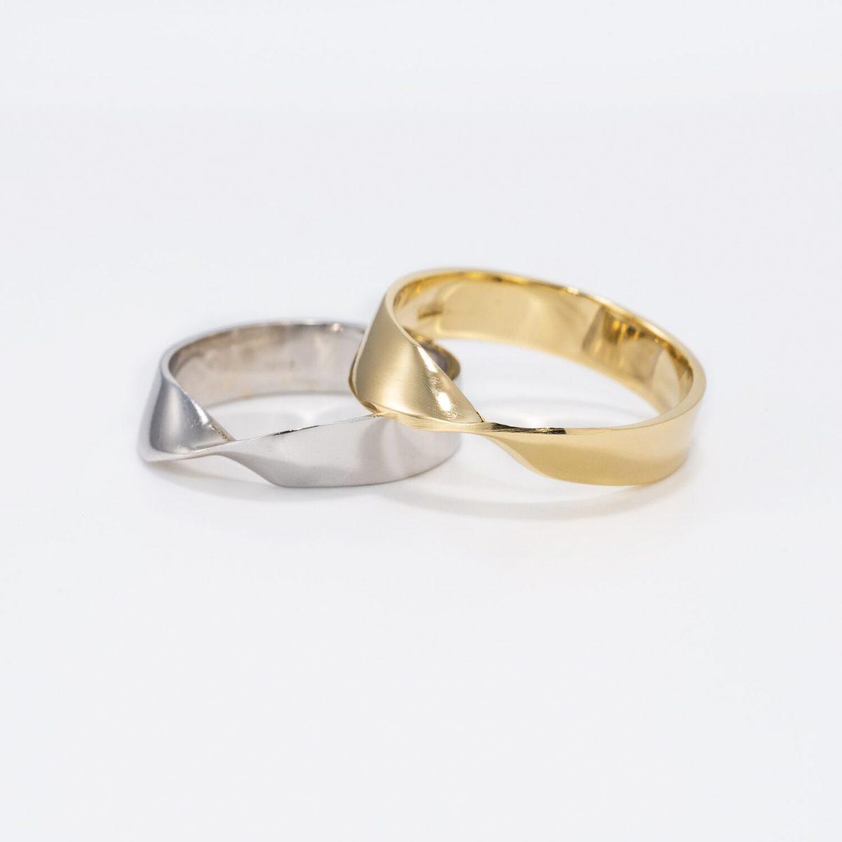 טבעת זהב מביוס