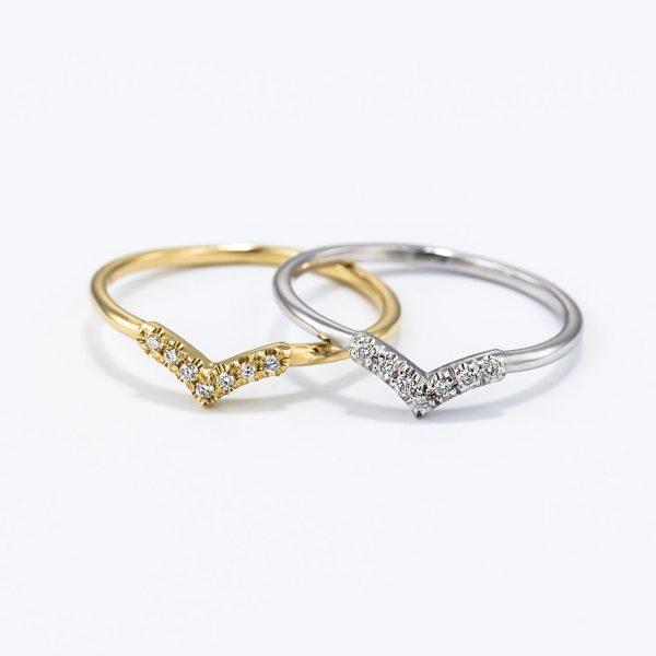 אגם - טבעת זהב יהלומים