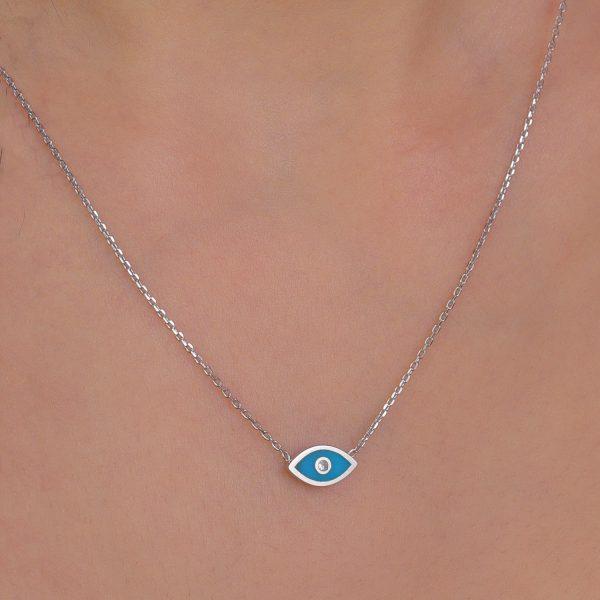 שרשרת עין כחולה
