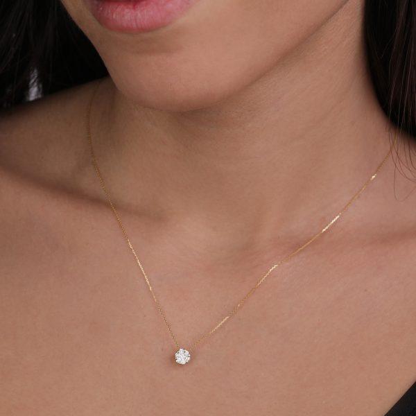 שרשרת יהלומים - דנה