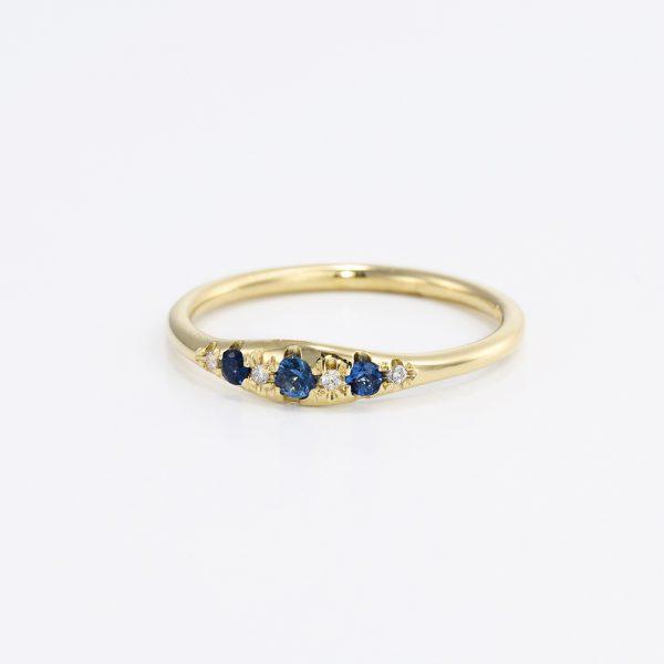 טבעת וינטג׳ יהלומים - נעמי
