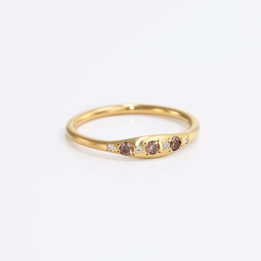 טבעת וינטג׳ יהלומים - אוריה