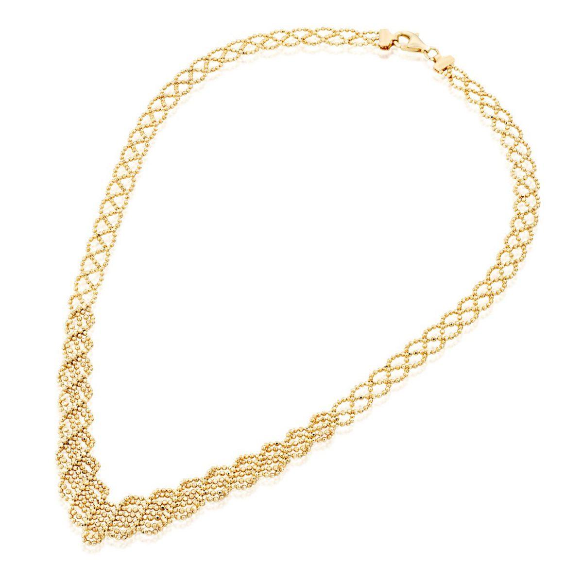 שרשרת ענק זהב - דורין