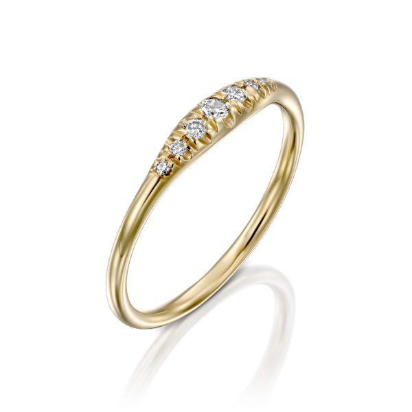 טבעת וינטג׳ יהלומים - אסתי