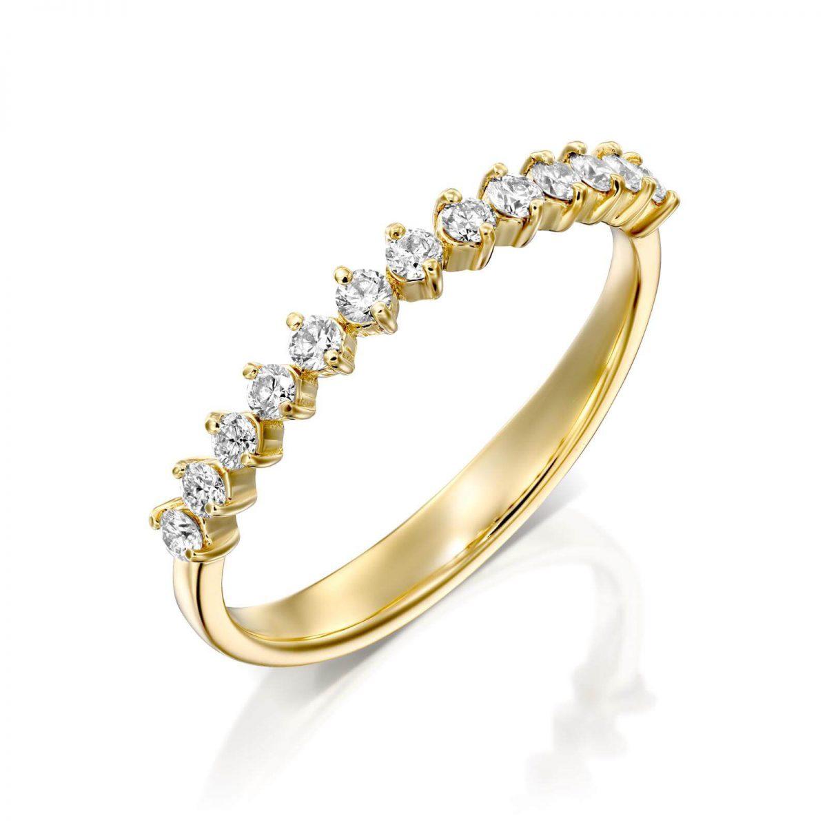 טבעת יהלומים ליטל