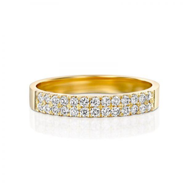 טבעת יהלומים סיון