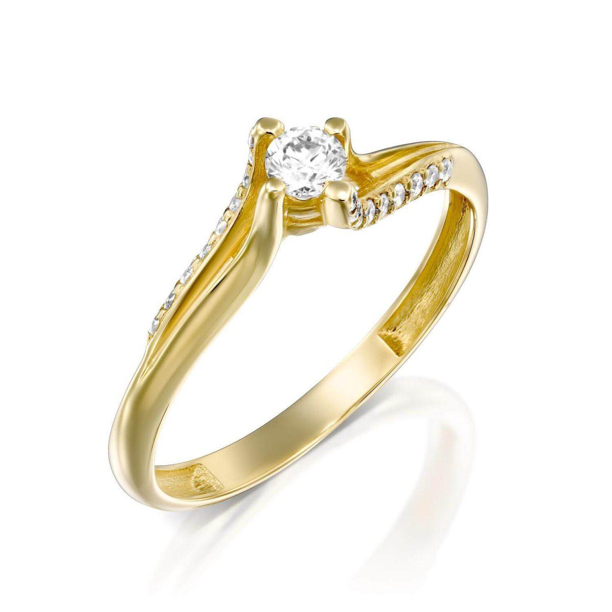 טבעת יהלומים קריסטינה