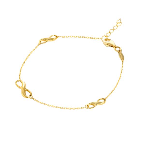 צמיד זהב קרולינה