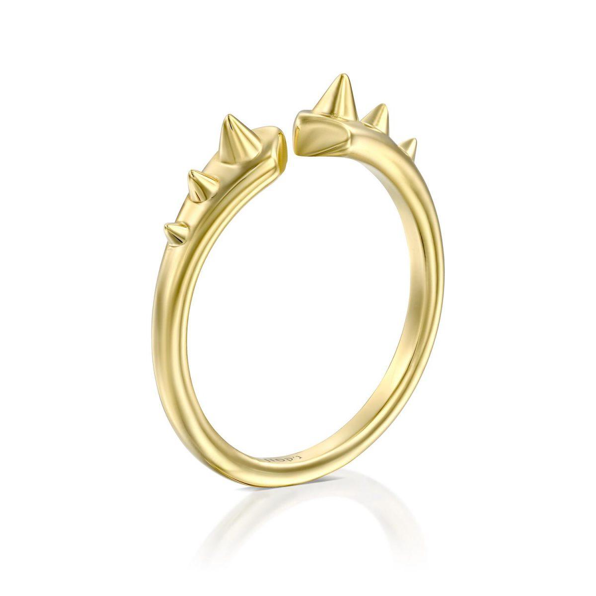 טבעת זהב פארלי