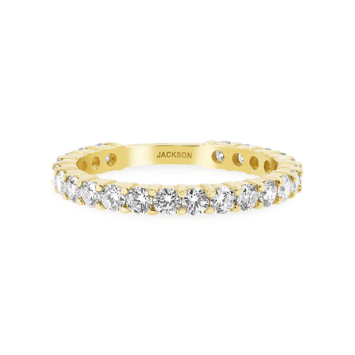 טבעת יהלומים סופיה זהב צהוב