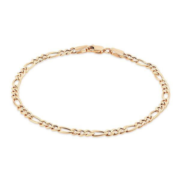 צמיד זהב חוליות - לני - זהב אדום