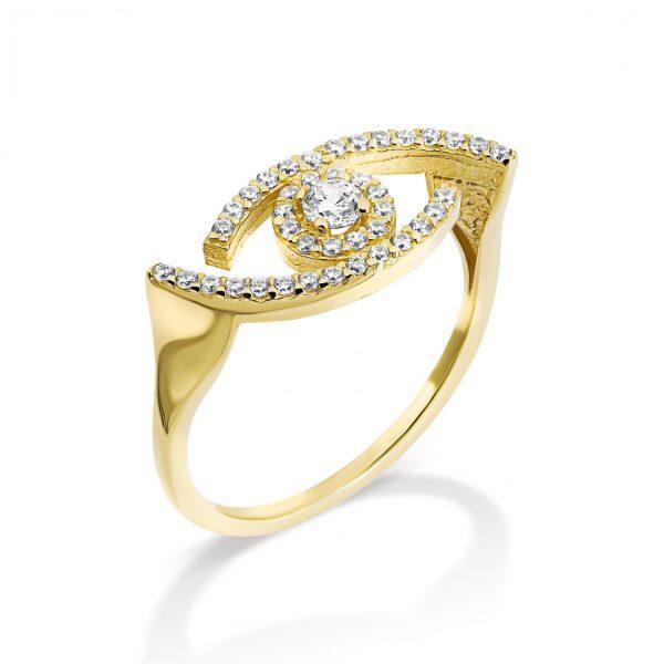 טבעת זהב - עמית - זהב צהוב