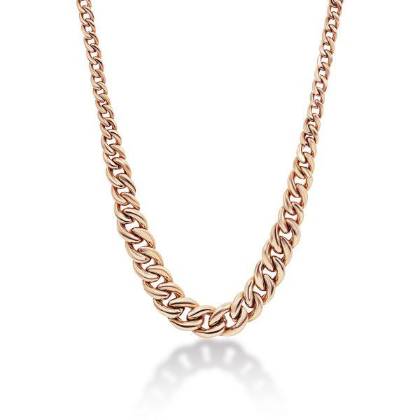 שרשרת זהב לורין - זהב אדום