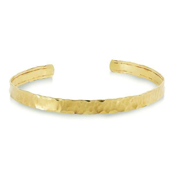צמיד זהב לגבר - רוי - זהב צהוב