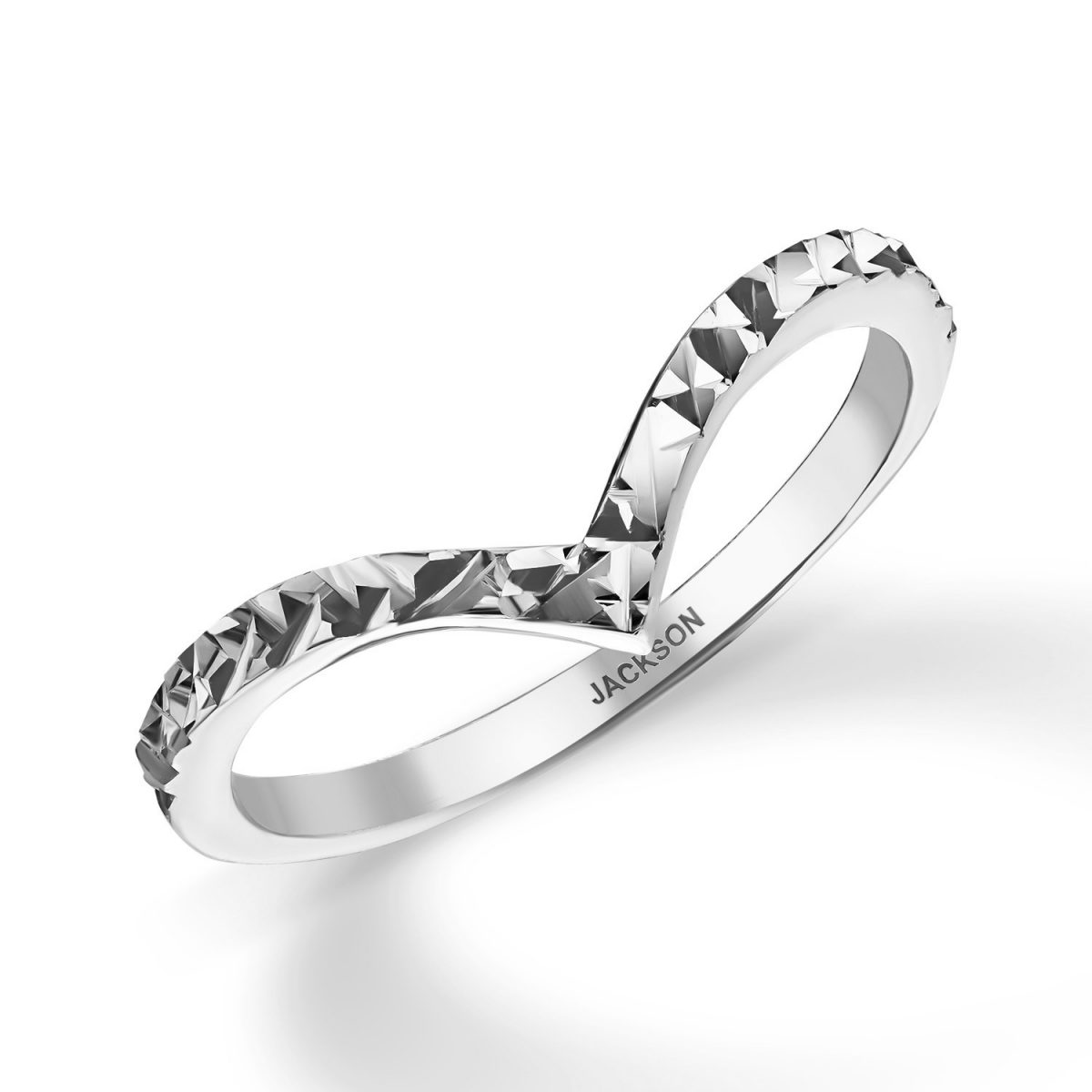טבעת זהב - ויקי - זהב לבן