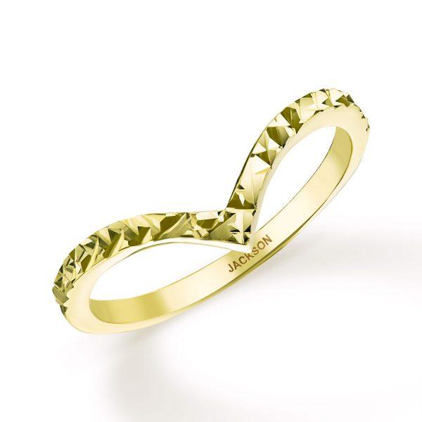 טבעת זהב - ויקי - זהב צהוב