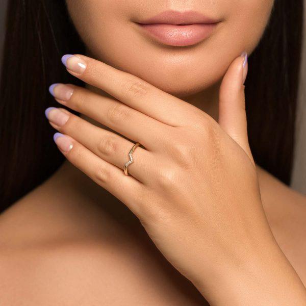 טבעת יהלומים - גדות