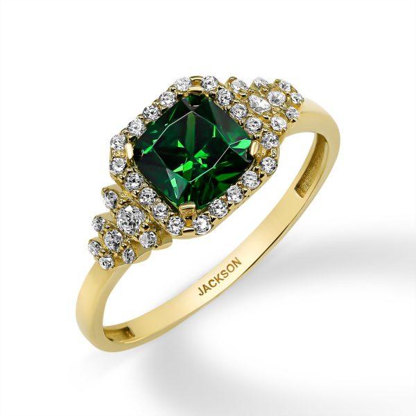 טבעת זהב - רואי - זהב צהוב