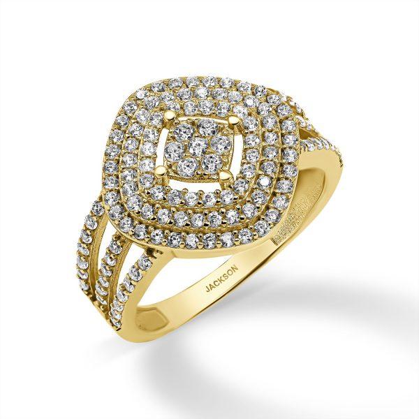 טבעת זהב - תום - זהב צהוב