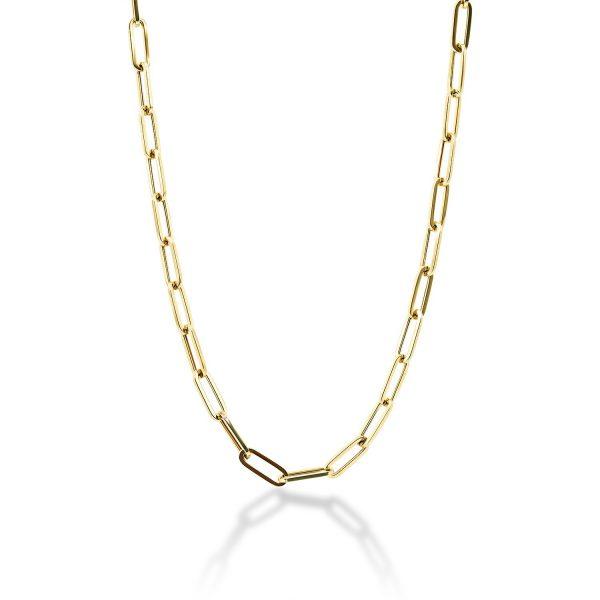 שרשרת זהב - דריה - זהב צהוב
