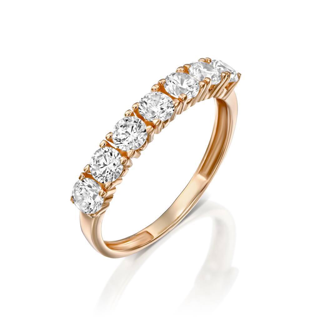 טבעת זהב - נויה - זהב אדום