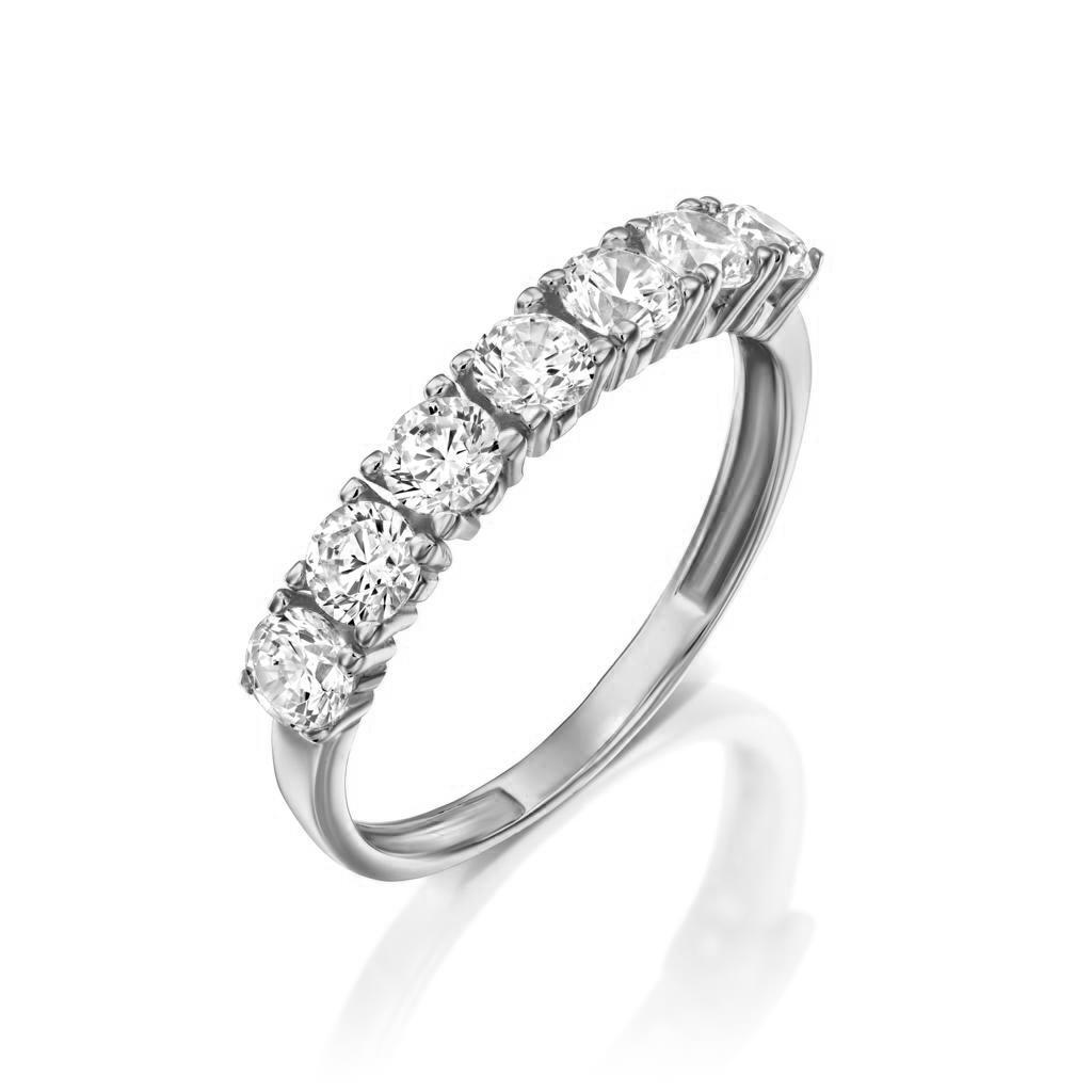 טבעת זהב - נויה - זהב לבן