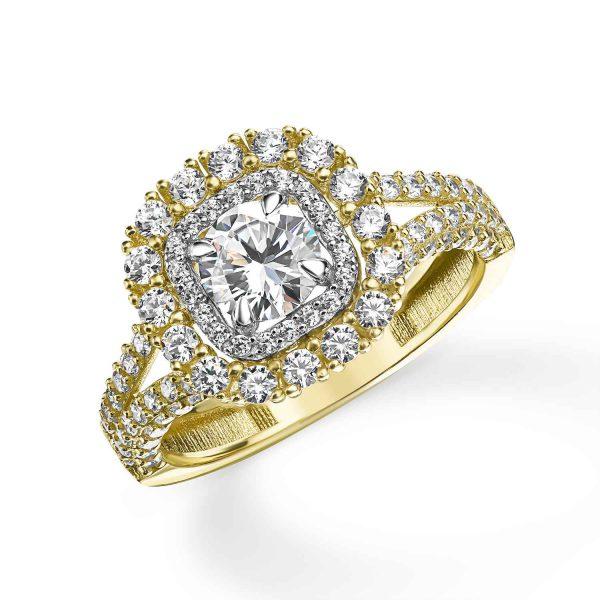 טבעת זהב - אסתר - זהב צהוב