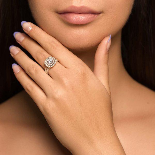 טבעת זהב אסתר
