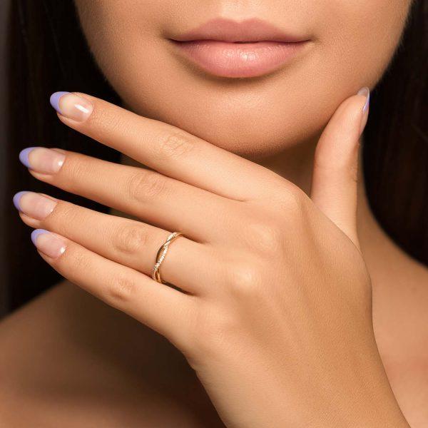 טבעת יהלומים קארין
