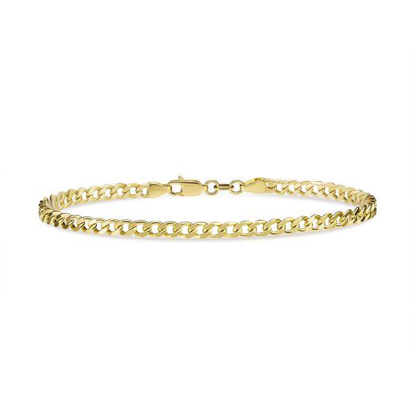 צמיד זהב - אביב - זהב צהוב