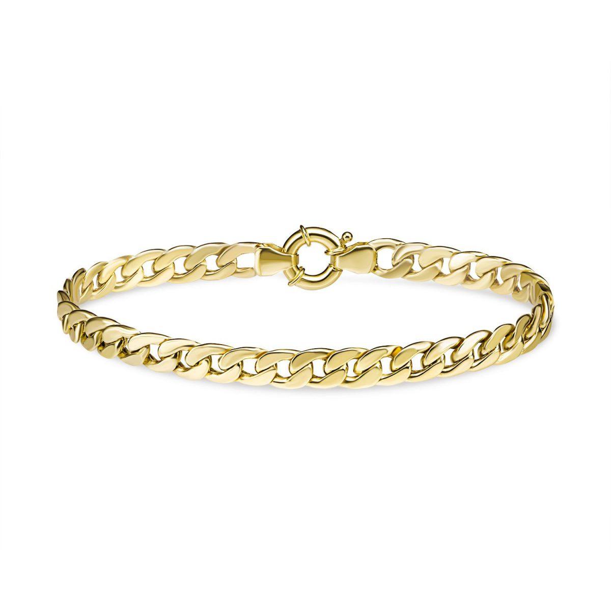 צמיד זהב - מור - זהב צהוב