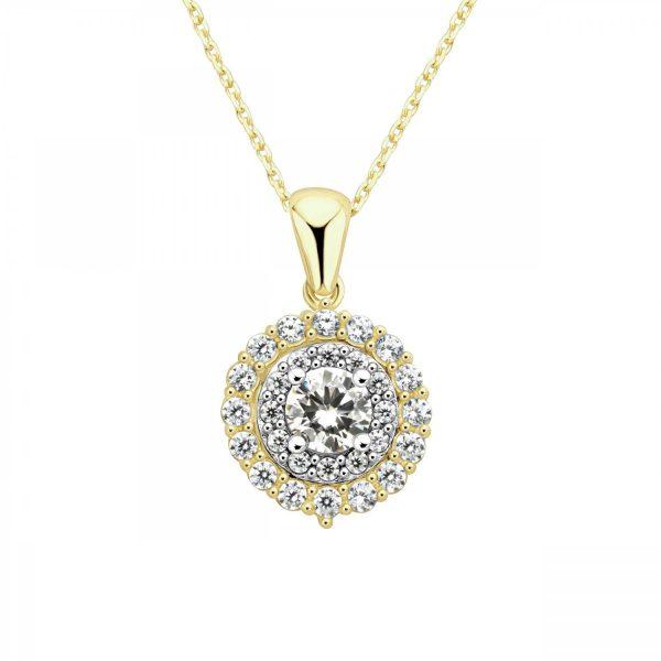 שרשרת זהב אליסיה - זהב צהוב