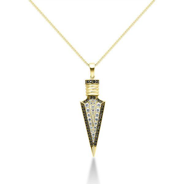 שרשרת זהב - אמיר - זהב צהוב